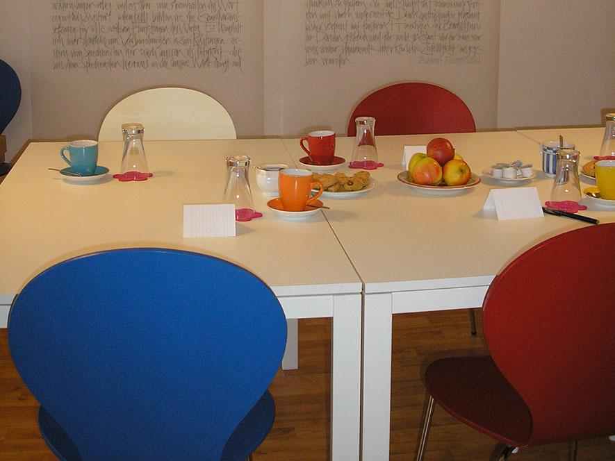 Seminarraum Akademie für Autoren
