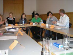 Teilnehmer im Social-Media-Workshop auf der Leipziger Buchmesse 2017