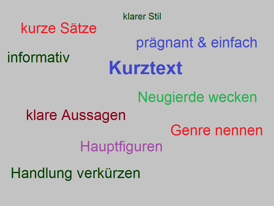 Bildwolke Kurztext