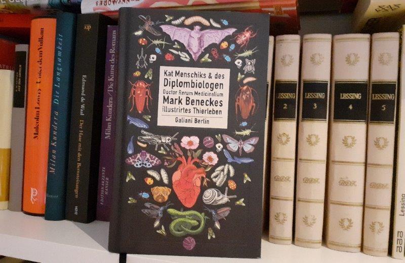 """Cover von Menschik+Benecke """"...illustriertes Thierleben"""""""